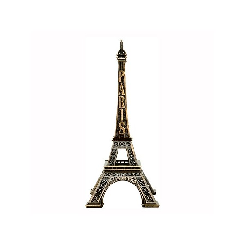 Tour Eiffel métal 19 cm Made in France