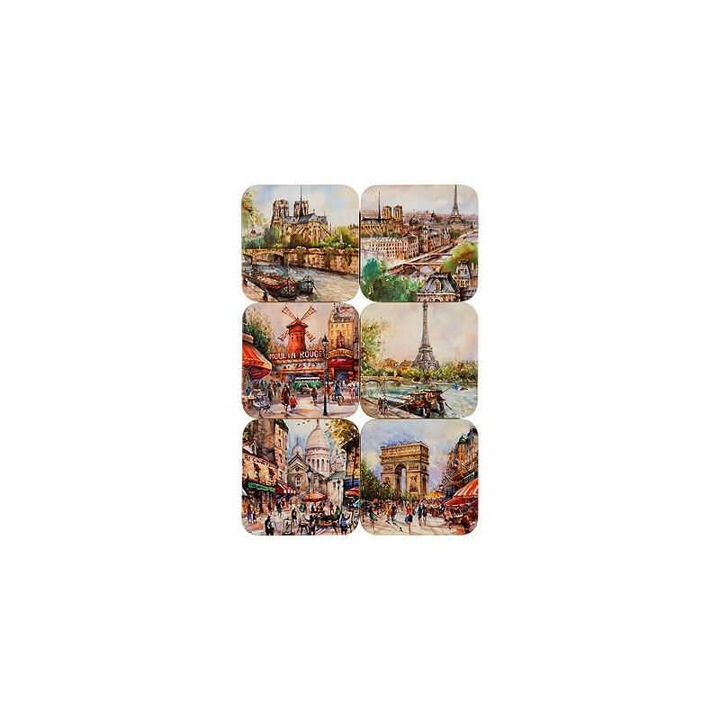 Dessous de Verre Paris Nostalgique