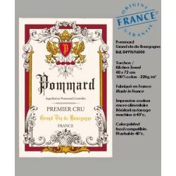Torchon Pommard - Vignoble de Bourgogne