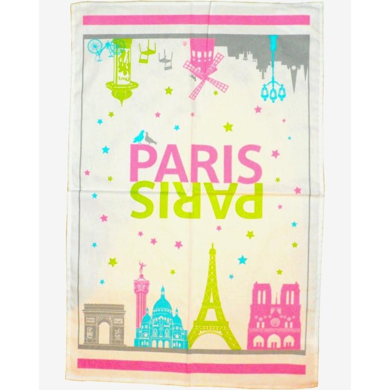Torchon Paris Monuments