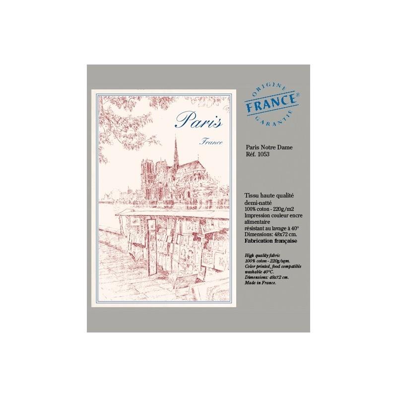 Torchon Notre Dame de Paris