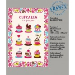 Torchon Cupcakes à la Française