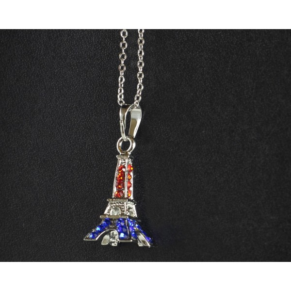 Collier Tour Eiffel 3D France
