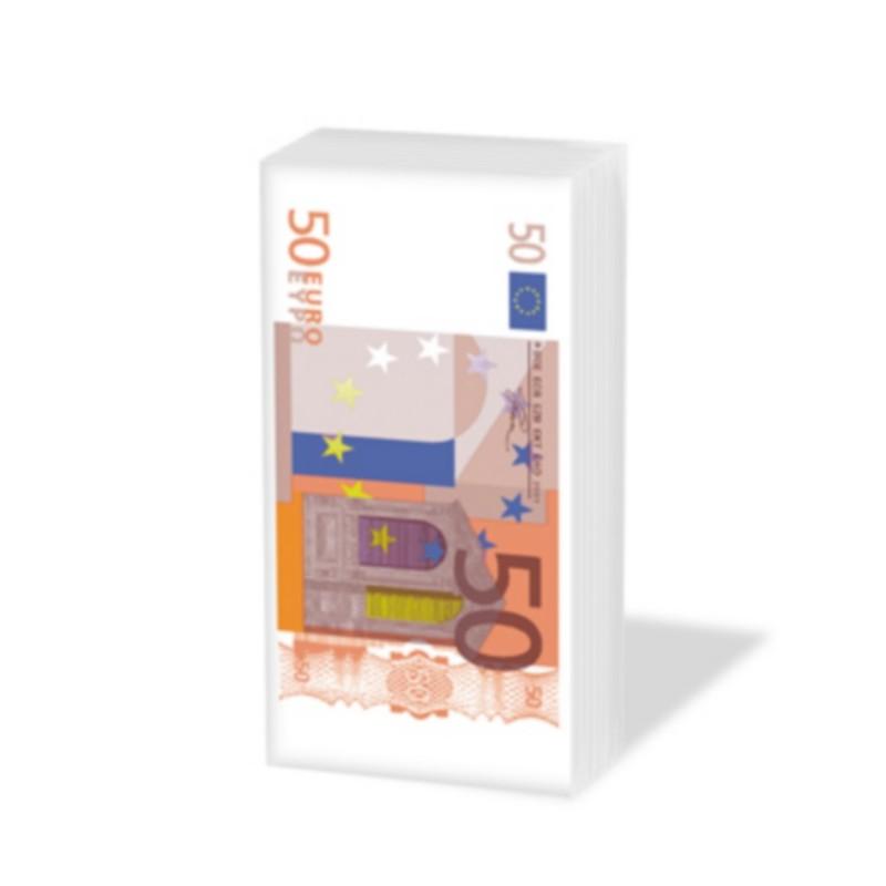 Mouchoir 50 Euros