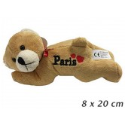 Ours en Peluche couché Paris