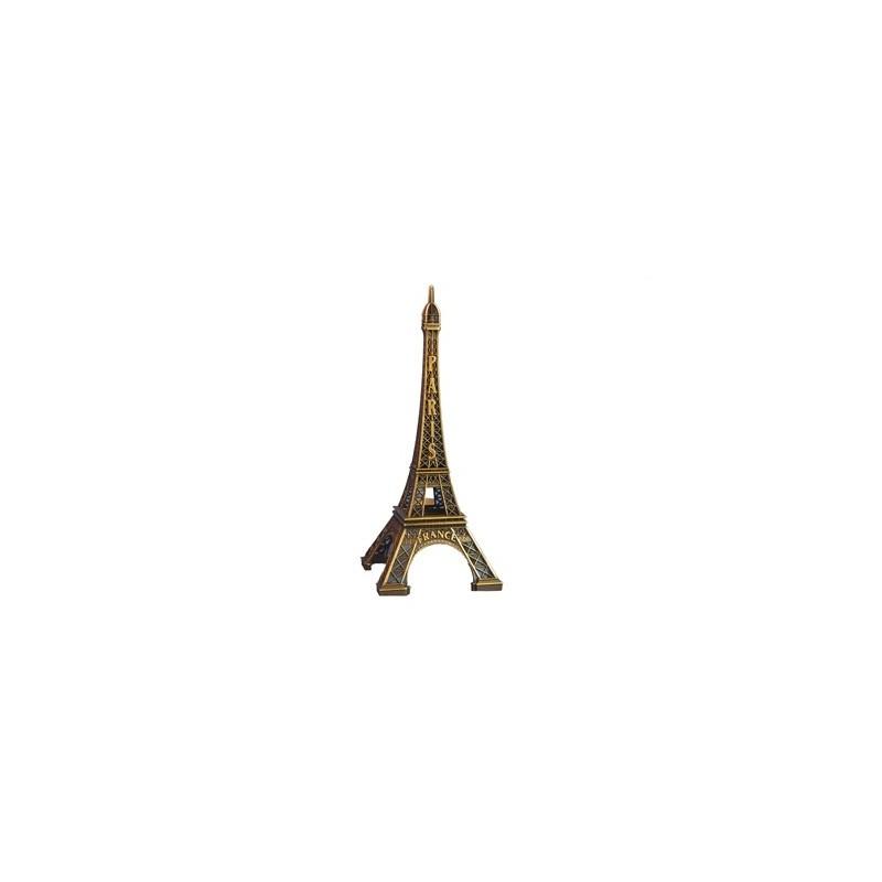 Tour Eiffel en métal 22 cm