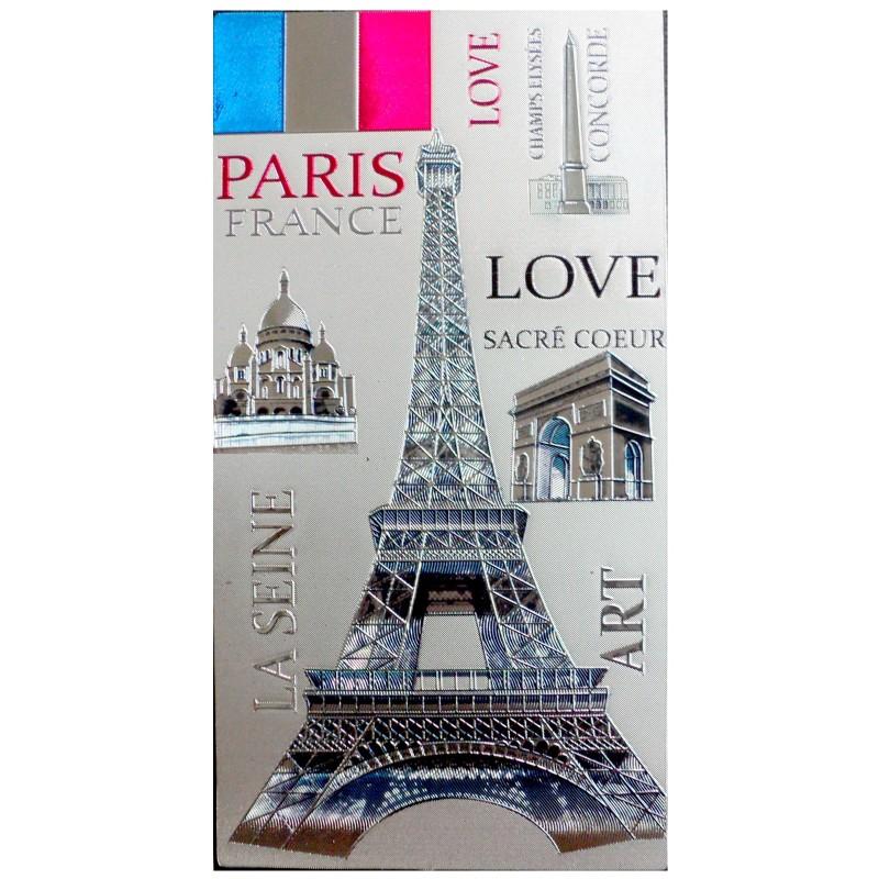 Magnet Tour Eiffel Drapeau