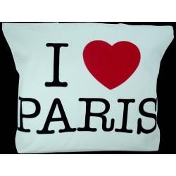 Sac tissu I Love Paris