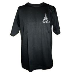 T-shirt Tour Eiffel côté coeur
