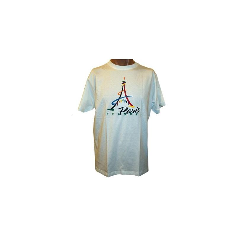 T-shirt Tour Eiffel Paint
