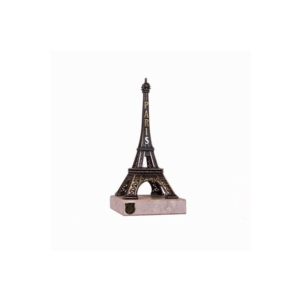 Tour Eiffel sur marbre - 13 cm - Made in France