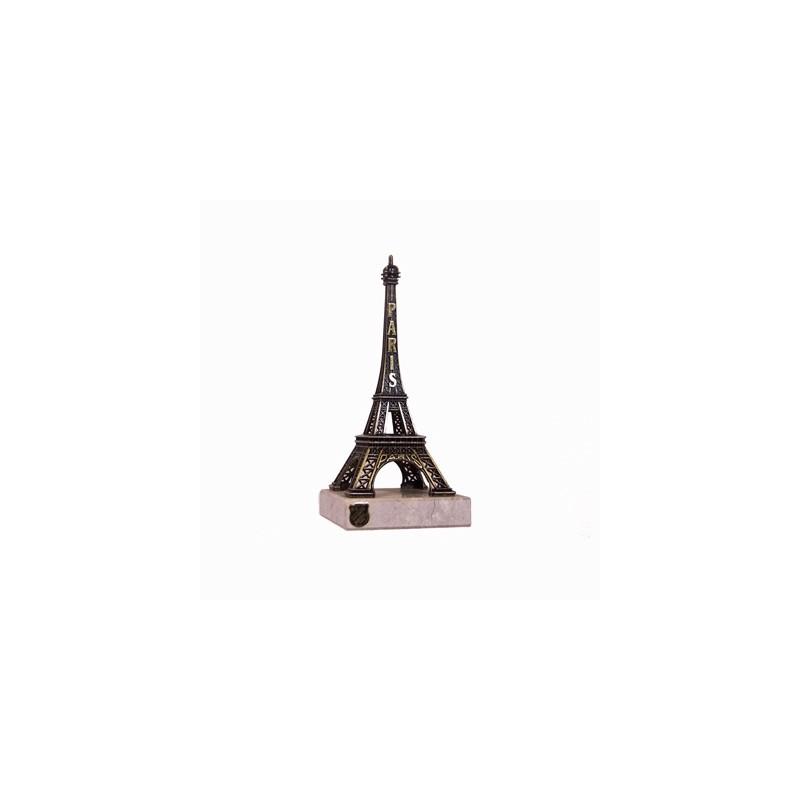 Tour Eiffel sur marbre - 17 cm - Made in France