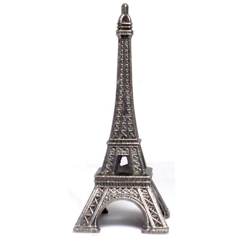 Tour Eiffel vieil argent 7 cm Made in France