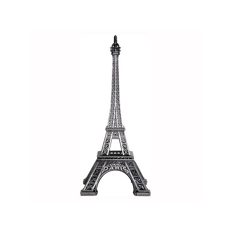 Tour Eiffel vieil argent 13 cm Made in France