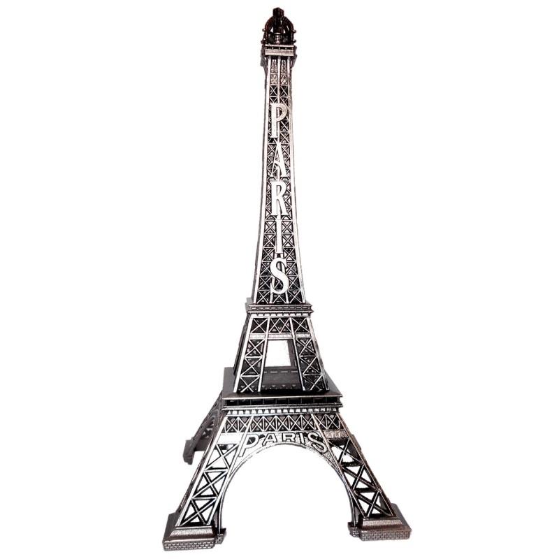 Tour Eiffel Vieil Argent face