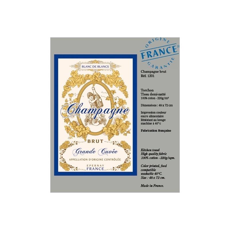 Torchon Champagne Brut