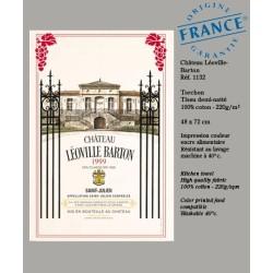 Torchon Château Leoville Barton - Vignoble de Bordeaux