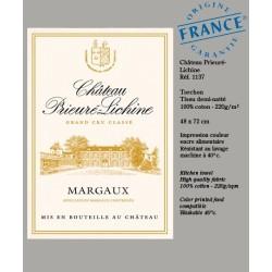 Torchon Château Prieuré-Lichine Margaux - Vignoble de Bordeaux