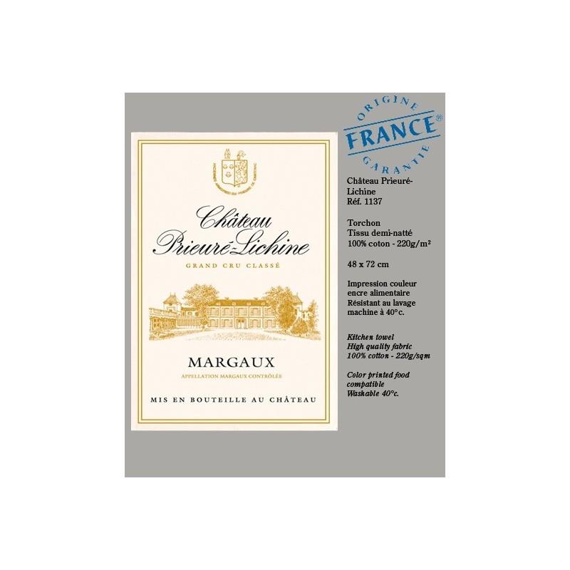 Torchon Château Prieuré-Lichine Margaux
