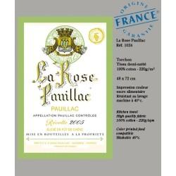 Torchon La Rose Pauillac - Vignoble de Bordeaux