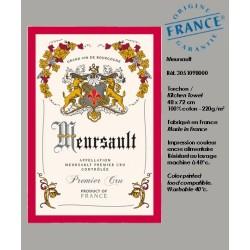 Torchon Meursault - Vignoble de Bourgogne