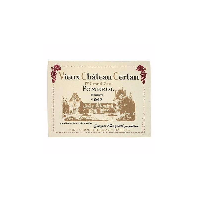 Torchon Pomerol Vieux Château Certan
