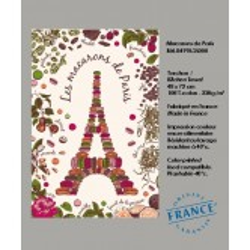 Torchon Tour Eiffel en Macarons