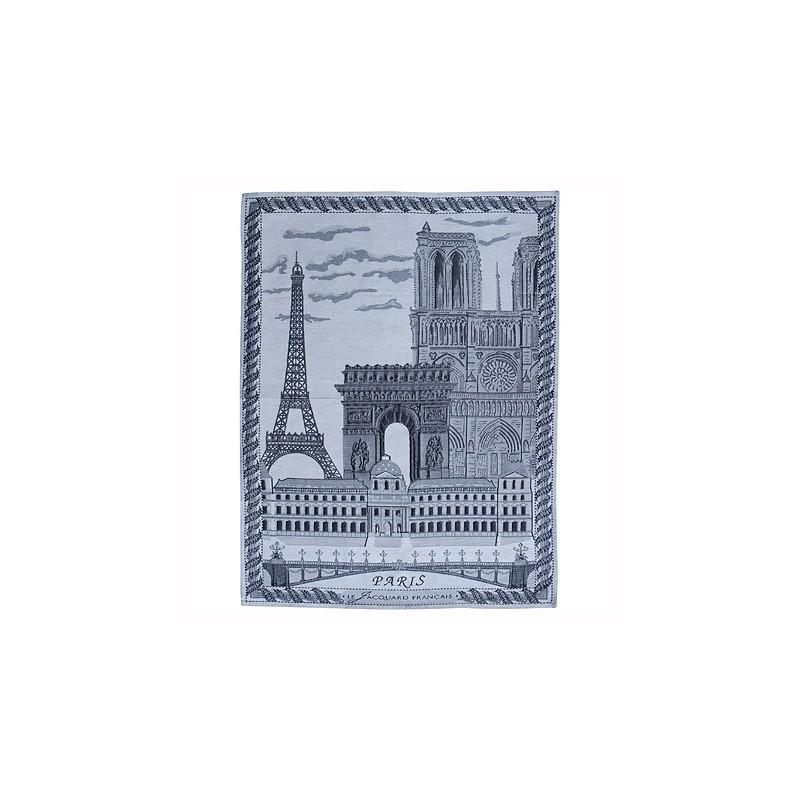 Torchon Jacquard Paris Monuments