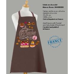 Tablier Eclairs au Chocolat - Marron