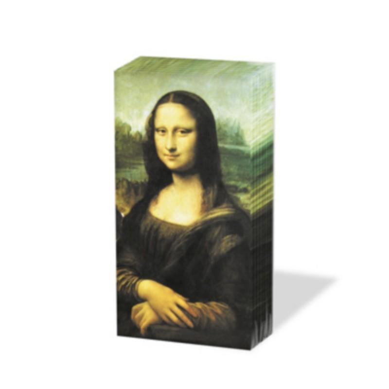 """Mouchoir """"Mona Lisa"""""""