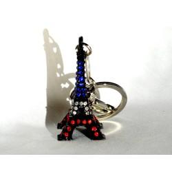 Porte-clé Tour Eiffel étoilée