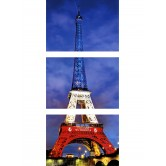 Cartes Postales Tour Eiffel - Lot de 3