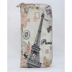 Porte-feuille Tour Eiffel Timbres