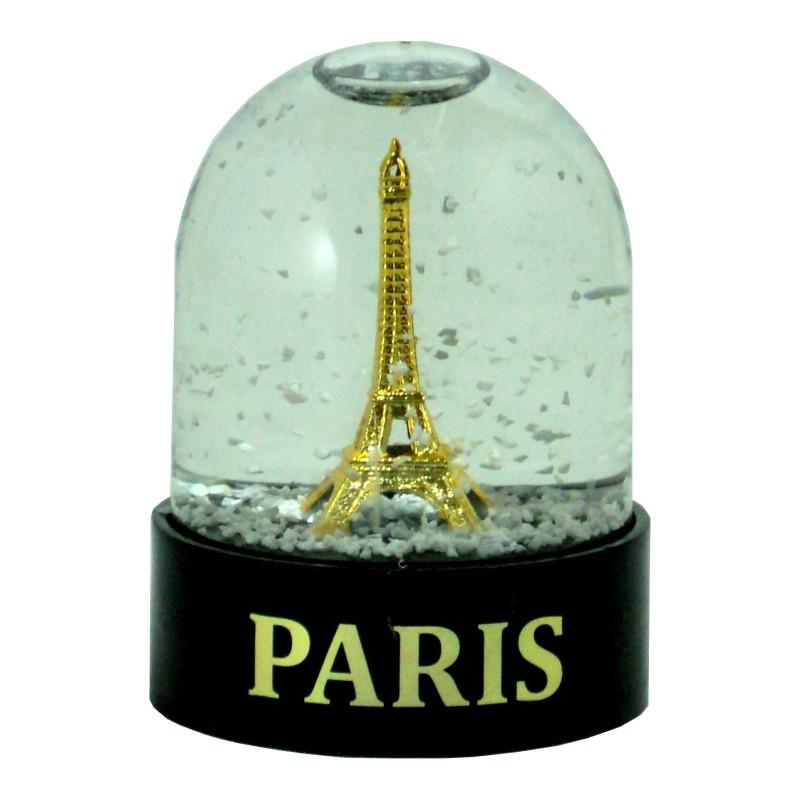 Boule de Neige Tour Eiffel or - Made in France