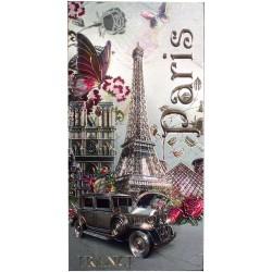 Magnet Voiture à Paris 1900