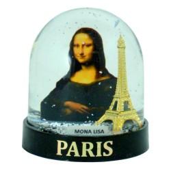 Boule à Neige Tour Eiffel Mona Lisa - Grande