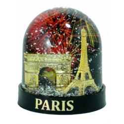 Boule de Neige 2 Monuments (Grande) - Fabrication Française
