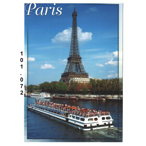 20 Cartes Postales photos de Paris