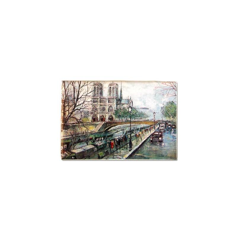Magnet Cartes postales Notre Dame