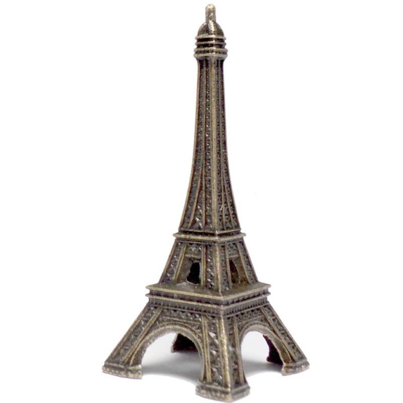 Tour Eiffel bronze petite côté - Made in France