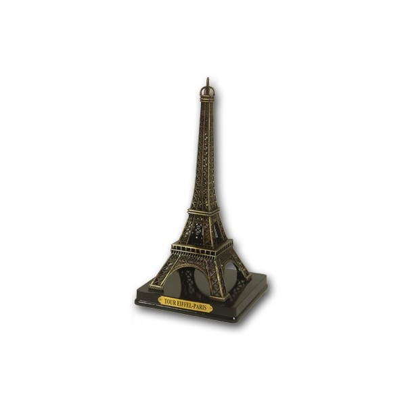 Tour Eiffel sur socle bois