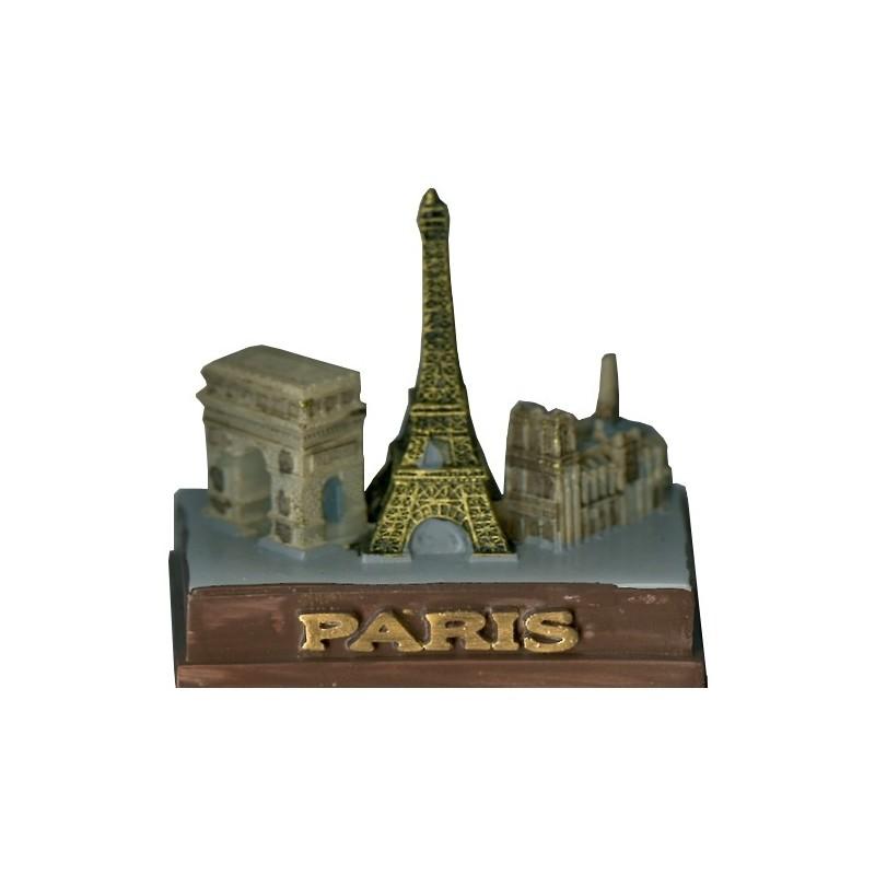 3 Monuments en Résine petit modèle