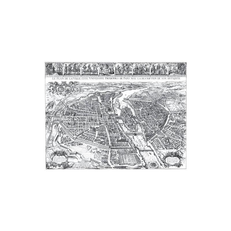 Carte de Paris en 1632