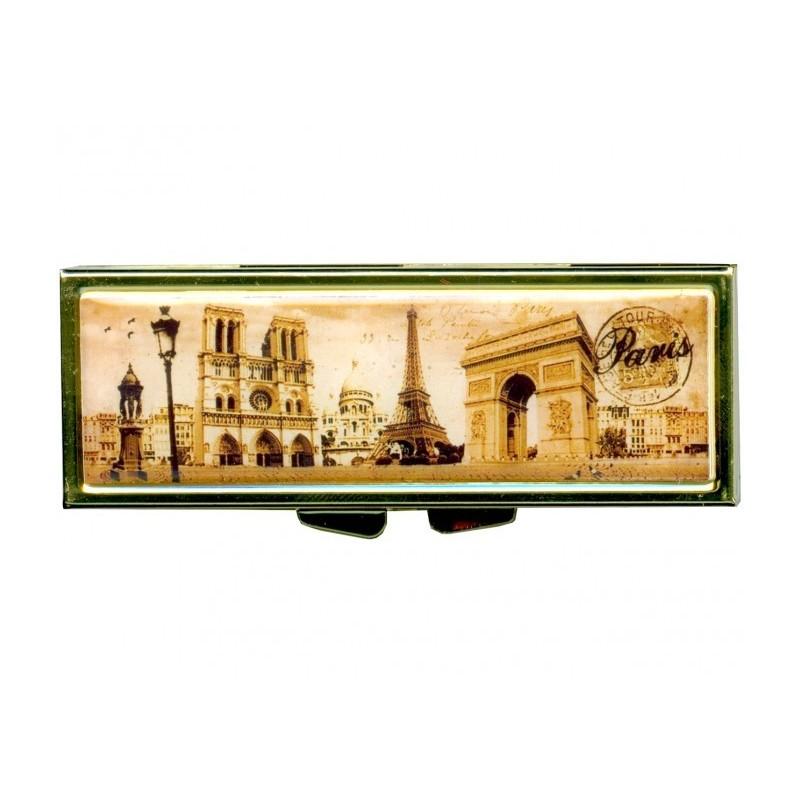 Boite à pilules Monuments de Paris