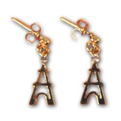 Boucles d'oreilles Tour Eiffel