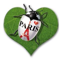 Coeur vert Tour Eiffel