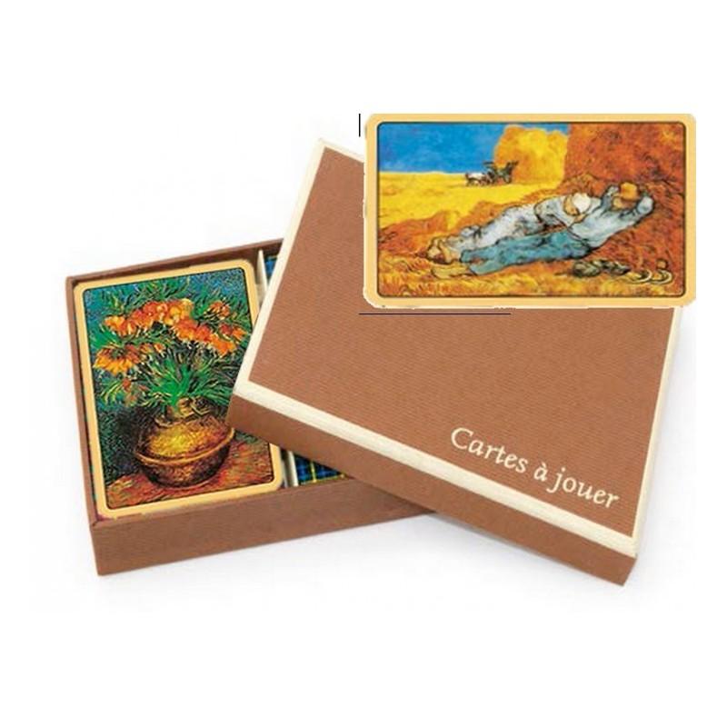 Coffret Luxe Jeu de Cartes Van Gogh