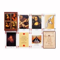 "Jeu de cartes ""Leonard Da Vinci"""