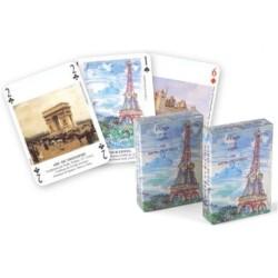 """Jeu de cartes Paris et sa région """"vu par les Peintres"""""""