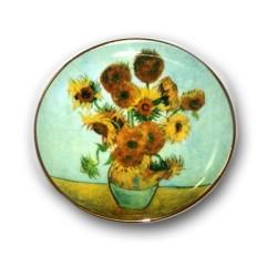 Mini Assiette Tournesols de Van Gogh